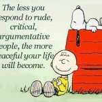 Weekend Wisdom from Snoopy