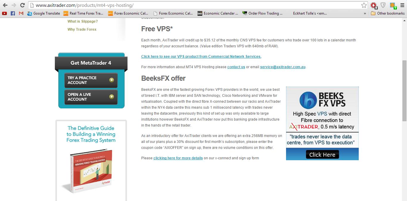 Forex broker vps free