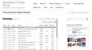 Forex-News-Calendar