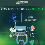 IC Markets now accepts PayPal!