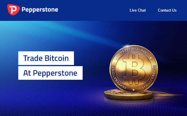 Looking for a bitcoin broker you can now trade bitcoin for Pepperstone